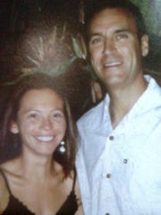 Kelly Rothwell, left, and David Perry, formerly of West Elmira, in an undated photo. Florida authorities consider Perry a suspect in Rothwell's 2011 disappearance.