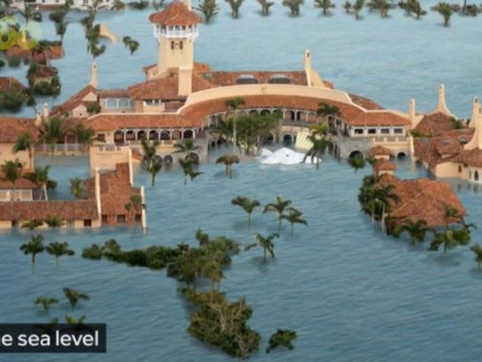 President Donald Trump's Mar-A-Lago estate in Florida