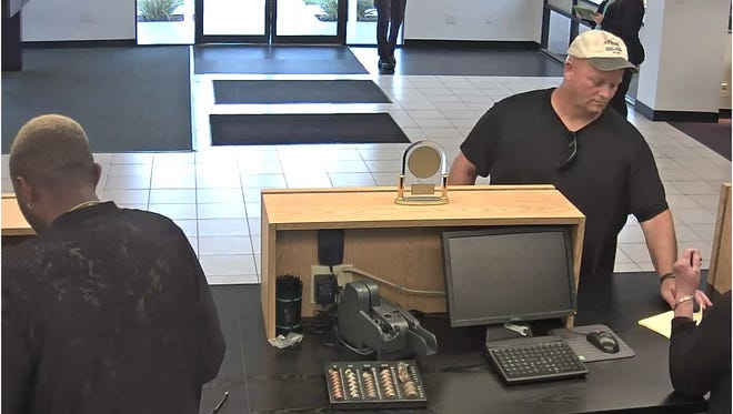Police arrested 45-year-old Jeffery Parrish of Palm Beach in connection with a Palm Bay bank robbery