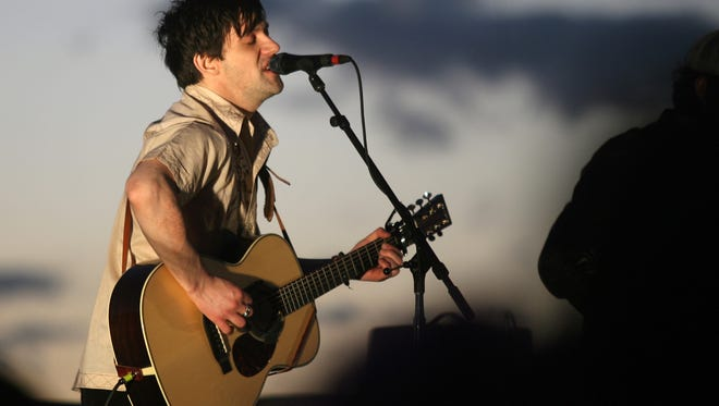 Conor Oberst performs in El Paso in 2009. The singer-songwriter will return to Downtown's Tricky Falls in May