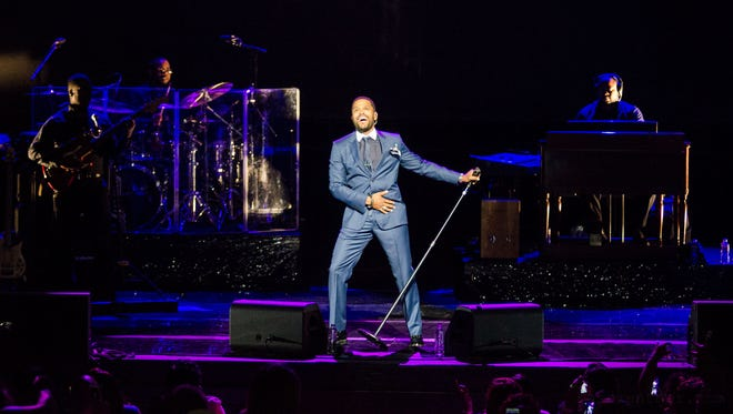 Maxwell performs at the Riverside Theater in June 2014.