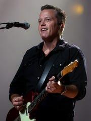 Jason Isbell performs at the Ryman Auditorium Monday