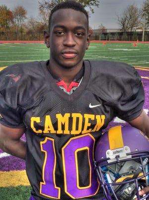 Camden senior DB/RB Terrance Moore