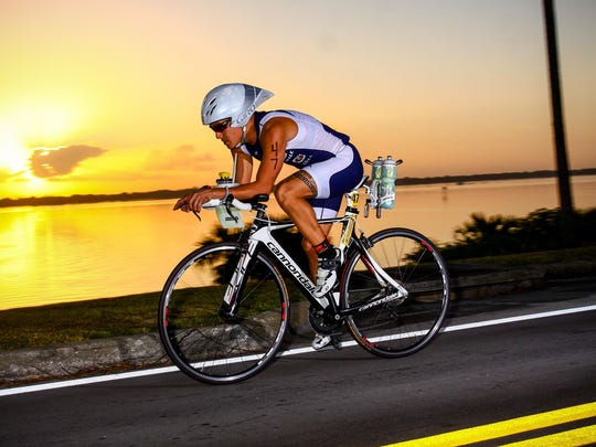 Jeff Salinas says competing in triathlons saved his
