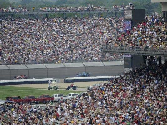IndyGrand Prix 500 crowd
