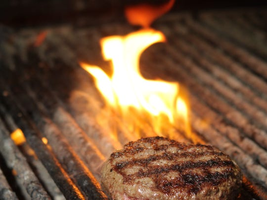 Make sure no grill brush bristles are stuck on your grill surface.