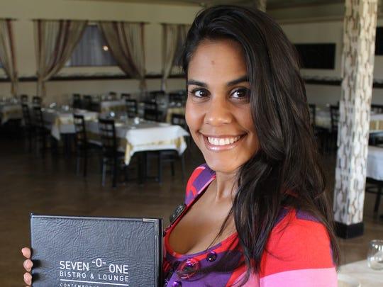 Paula Almeida is your hostess.