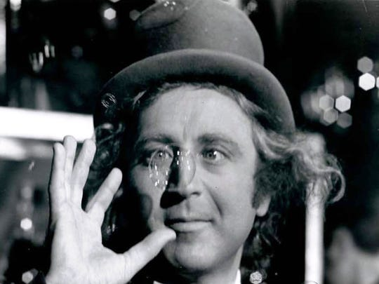 """Gene Wilder is shown in a scene from """"Willy Wonka and the Chocolate Factory."""""""