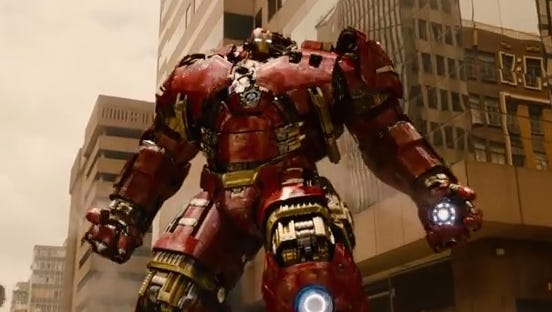 """Avengers: Age of Ultron"" arrives May 1."
