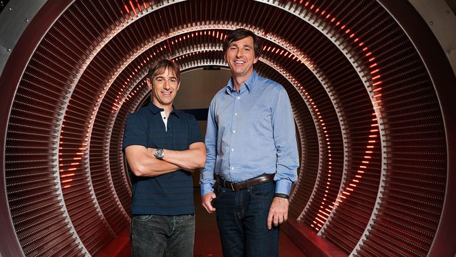 Mark Pincus, left, and Don Mattrick.