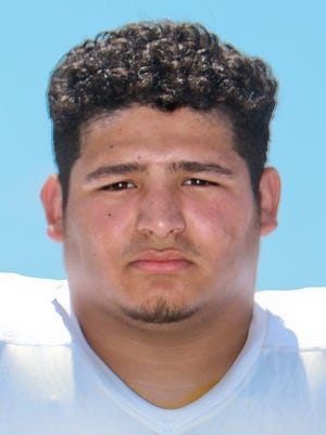 King offensive lineman Albert Villarreal was named first team all-state by the APSE on Wednesday.