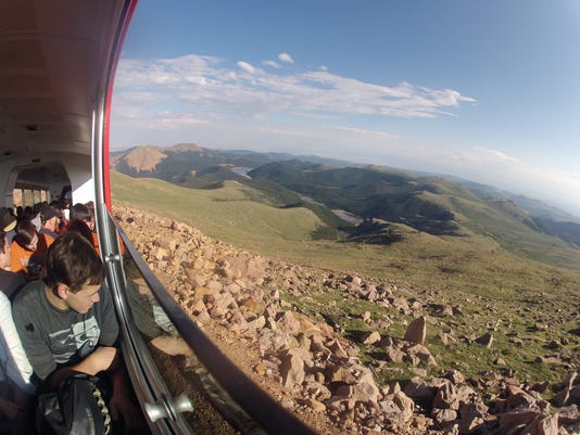 Pikes Peak Cog Railway:Flickr:Richard Masoner
