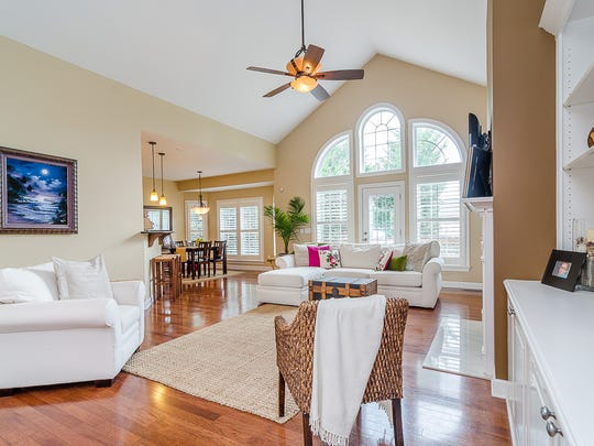 "Many people don't know where to put the furniture in an open floor plan, said Angela Ewing, who has operated a home staging business for nearly 20 years. ""Staging shows, 'This is how you live here.' """