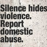 Report domestic abuse.