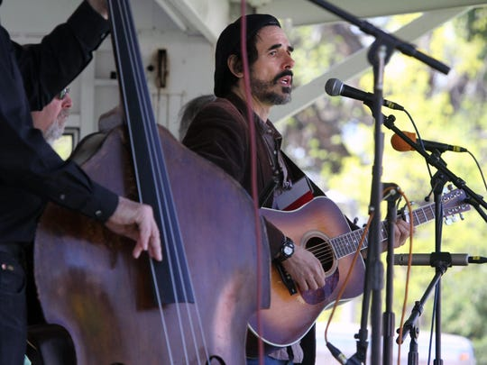 New Brunswick's own Spook Handy performs during the 2015 New Jersey Folk Festival.