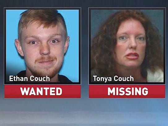 Ethan Couch, now 18, and his mother Tonya Couch, may
