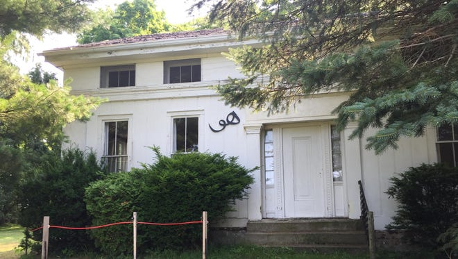 A mosque in Carlton, Orleans County, owned by the World Sufi Foundation.