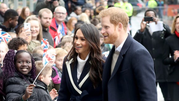 Prince Harry and Meghan Markle arrive in Birmingham,