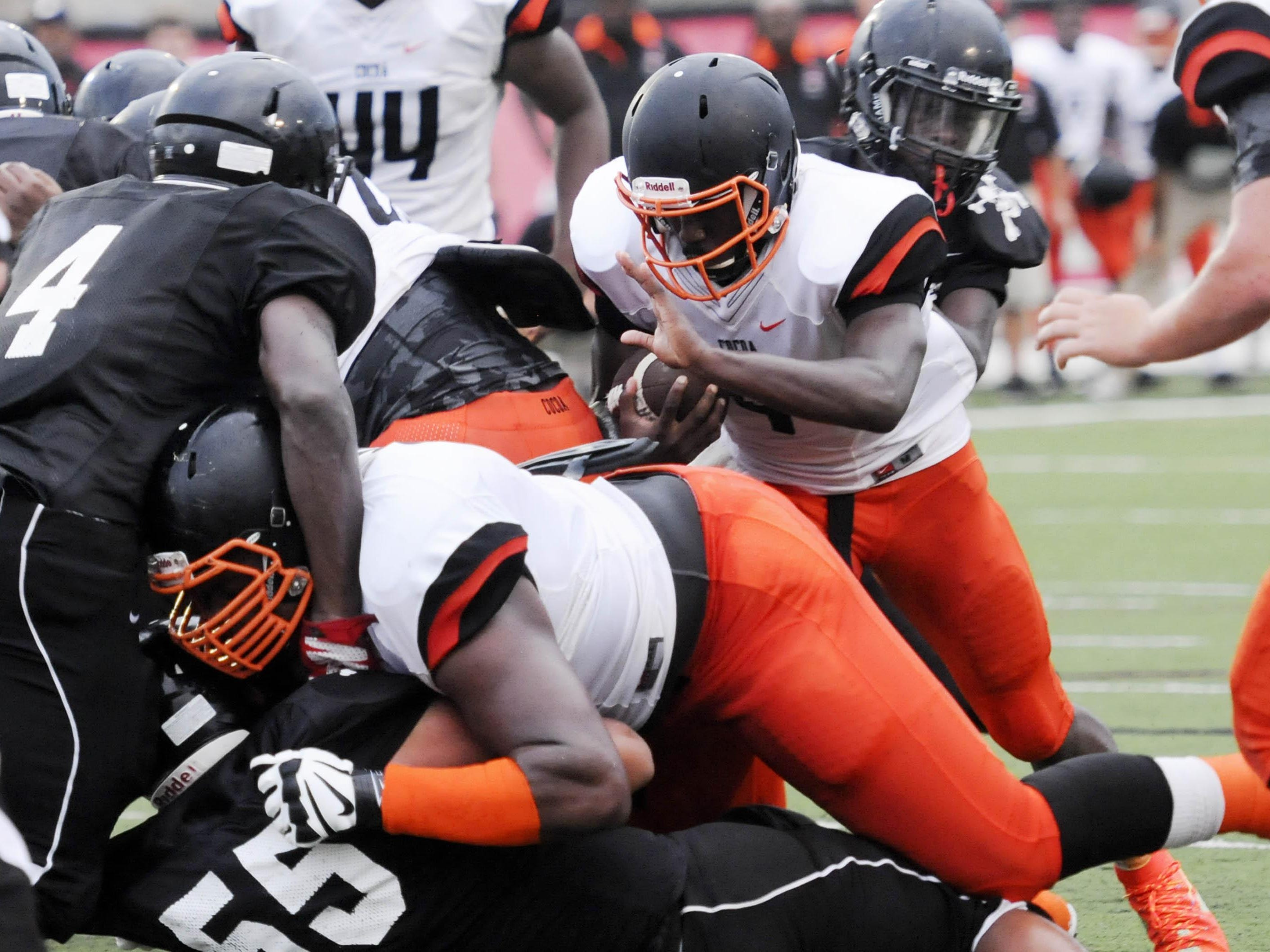 Cocoa was ranked third in Class 4A in this week's AP football rankings.