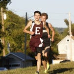 STAC West cross country championships behind Town of Elmira's town hall Tuesday. Corning won boys and girls team titles.