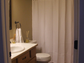 Alexandria Szwarc's bathroom before the renovation work.
