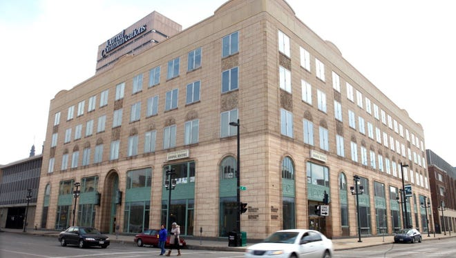 A petition seeking historic status for the Journal Sentinel building, at 333 W. State St., has been filed with city officials. It's being sought because of concerns about a possible ownership change for the property.