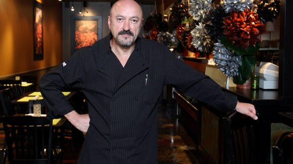 Chef Ezio Reynaud, shown in this 2012 photo, was a