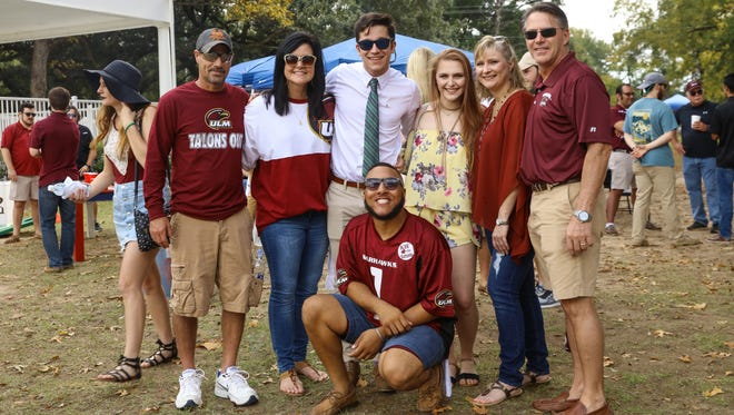 Located on the south side of Malone Stadium, the Grove has been the host to ULM fans young and old and alums and students alike for decades on fall football Saturdays.