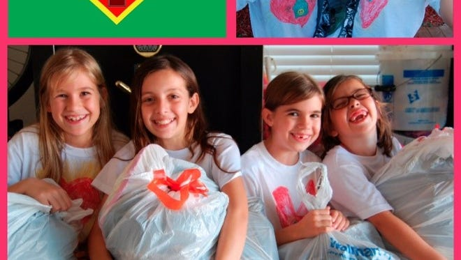 The efforts of four girls to help the homeless have led to Treasure Coast Hope For The Homeless Foundation.