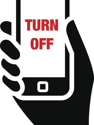 Turn off your technology for an hour.