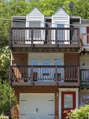 Exterior of a townhouse for sale on Western Avenue, Covington. The listing price is $123,900.