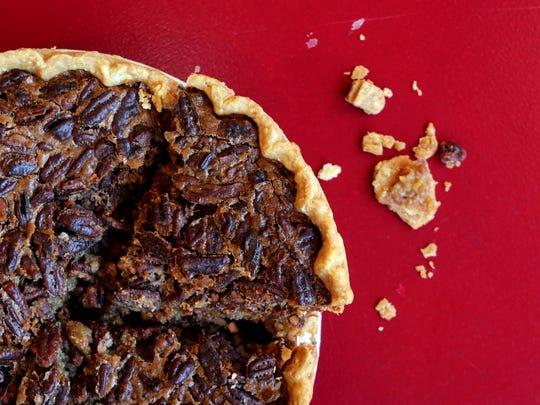 Pecan Pie at Pie Lady & Son in Upper Nyack.