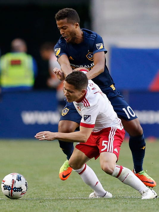 USP MLS: LOS ANGELES GALAXY AT NEW YORK RED BULLS S SOC NYR LAG USA NJ