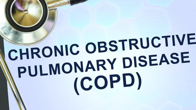 COPD, or chronic obstructive pulmonary disease, affects an estimated 30 million Americans, but about half of them don't know they have it.