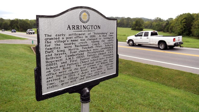 Arrington is an unincorporated community near Franklin in Williamson County, Tenn.