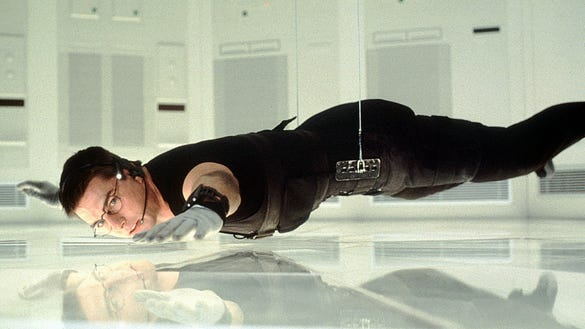 Image result for mission impossible cia scene