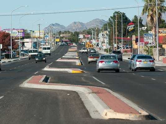Las Cruces road construction 2