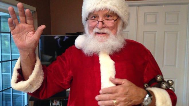 Bonita Springs' Bill James has played Santa for 49 years
