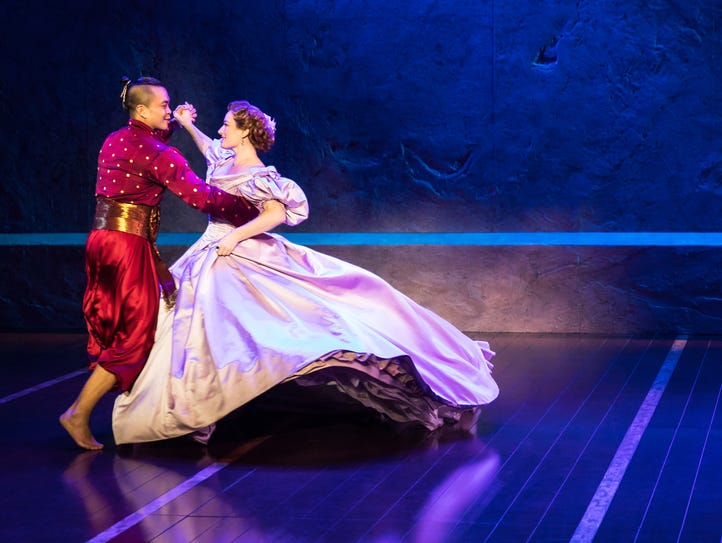 """Jose Llana and Laura Michelle Kelly star in """"The King"""