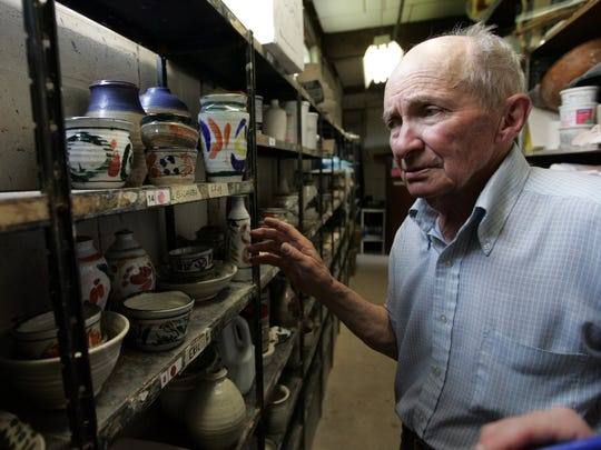 Potter J.T. Abernathy has been a part of every Ann Arbor fair since 1960.