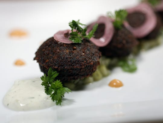 Falafel from Mezza in Westwood.