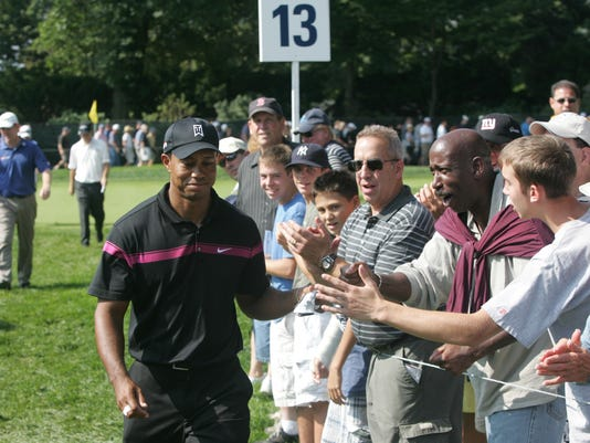 The Pro Am event at The Barclays, golf tournament at the Ridgewood Country Club.