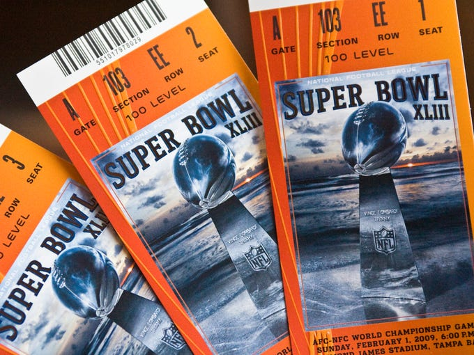 Tickets to the Super Bowl are among the hardest to