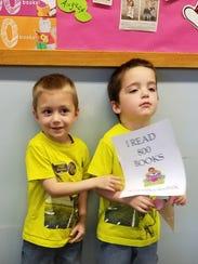 Nathan (left) and Mason Sheppard