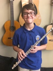 Noah Schmit was chosen for the 2017 All-Sate Band.