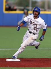 Jay Gonzales, who was named the MVP of the NCAA Division II South Central Regional Tournament, helped the Angelo State Rams advance to the College World Series for the second consecutive year and third time in program history.