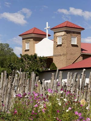 The old church in Questa will get a rededication Aug. 14.