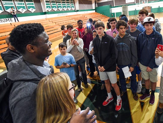 Shannon Forest gets a taste of Zion Williamson fever