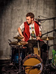 Michael Dause is Novi native and drummer for The Accidentals, which is performing Monday at the Michigan State Fair.