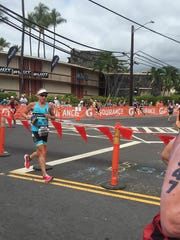 Despite a respectable time of 11 hours, 44 minutes, Rachel Lee was disappointed in her first Ironman at Kona.